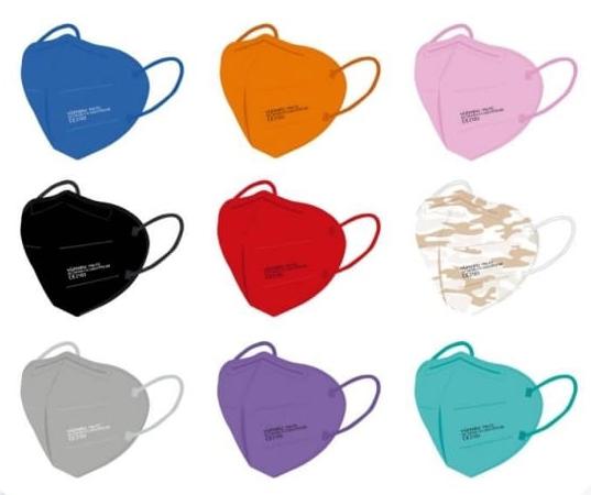 farbige FFP2-Masken