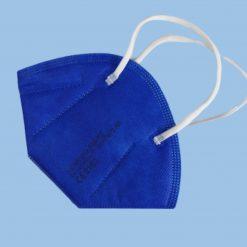 ffp2 maske blau color