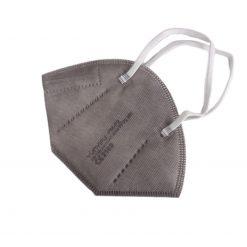 ffp2 maske grau einzeln