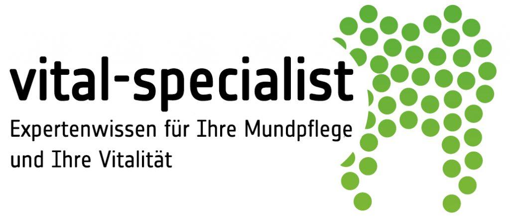 Logo vital specialist shop