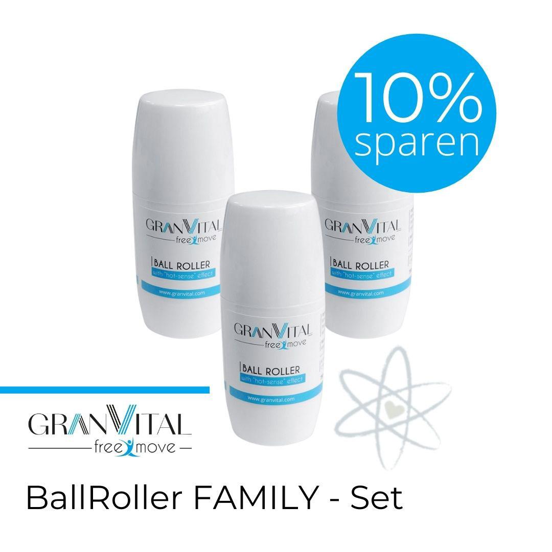 GranVital BallRoller Family Set Aktion sparen