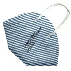 FFP2 Atemschutzmaske maritim blau weiss Streifen