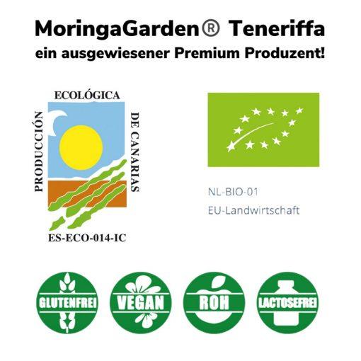 moringa garden teneriffa zertifiziert