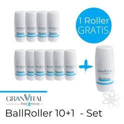 GranVital-BallRoller-10+1 Set Sofort Wärme bei Rücken oder Nacken