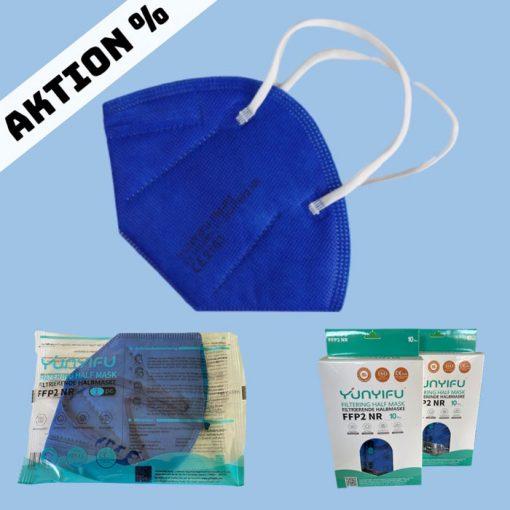 FFP2-Maske blau Aktion